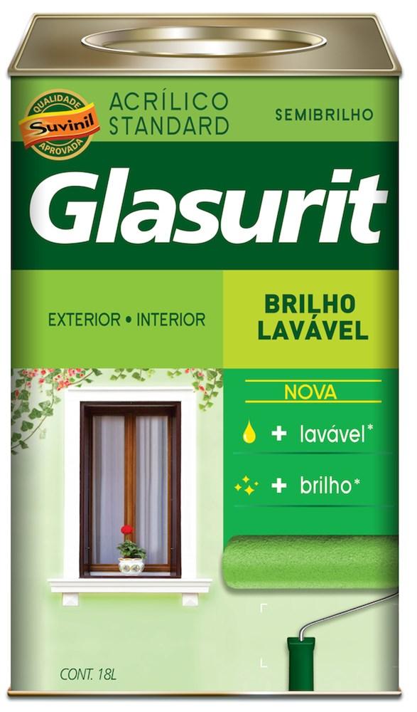 Glasurit Brilho Lavável 18L- Cromo Suave - Casa das Resinas 806600ee7b2